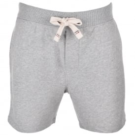Icon Hawk Tracksuit Shorts, Heather Grey