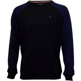Icon Hawk Tracksuit Sweatshirt, Blue with navy trim