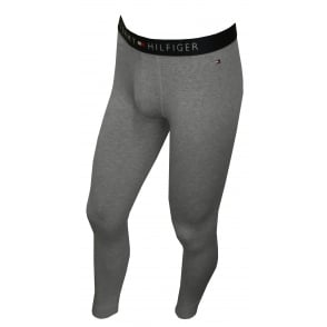 Icon Stretch Cotton Long Johns, Heather Grey