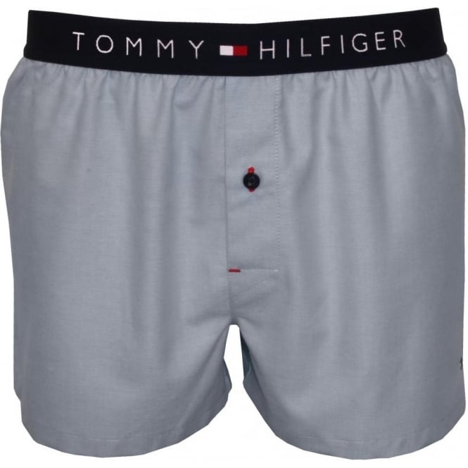 Navy Tommy Hilfiger Mens Cotton Icon Shorts