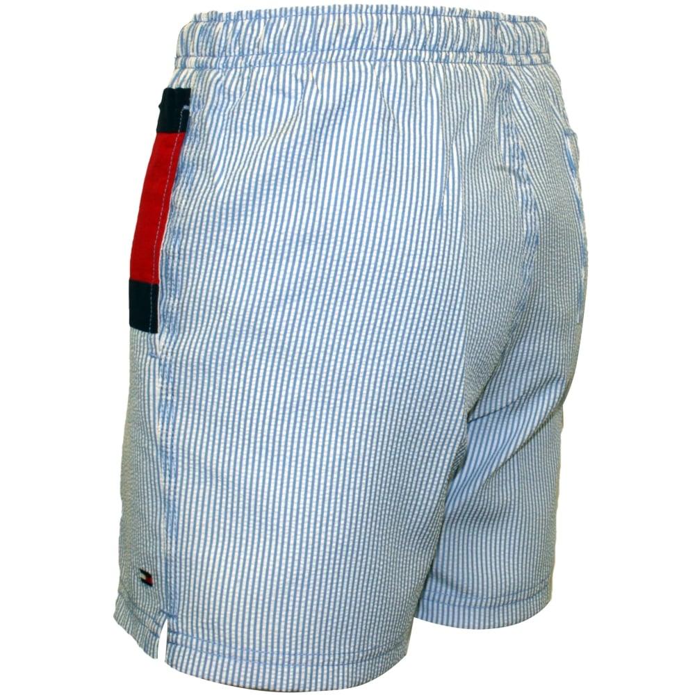 e2a6695ed Tommy Hilfiger Ithaca Stripe Flag Logo Boys Swim Shorts