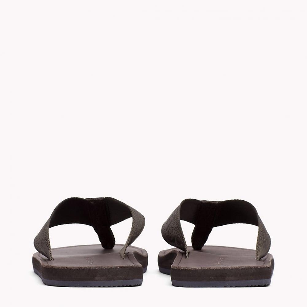 b248af5623a Tommy Hilfiger Jacquard TH Leather Sandals