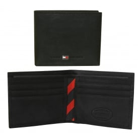 Johnson Mini Credit Card Wallet, Black