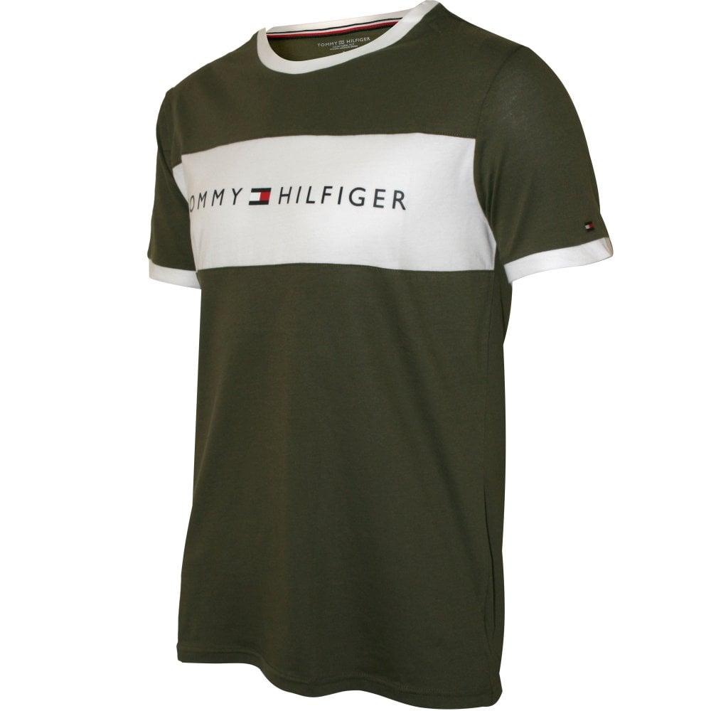 tommy hilfiger t shirt green