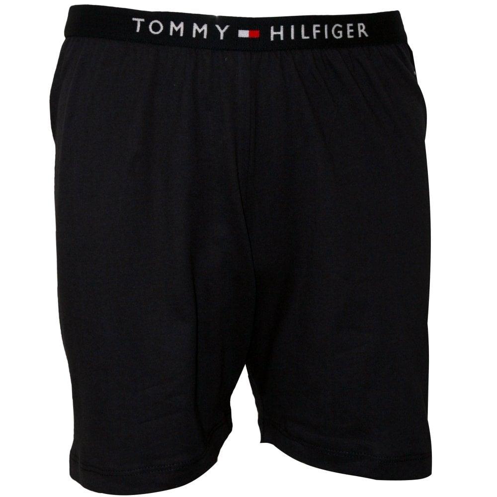 Navy Tommy Hilfiger Logo T-Shirt /& Shorts Boys Pyjamas Gift Set