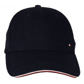 Melton Corporate Baseball Cap, Navy