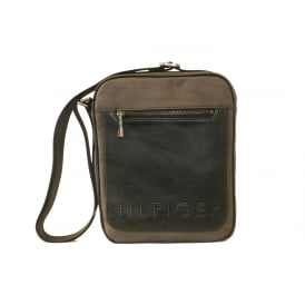 Metropolitan Slim Reporter Bag, Grey Mix