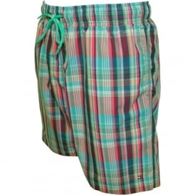 Multi Check Swim Shorts