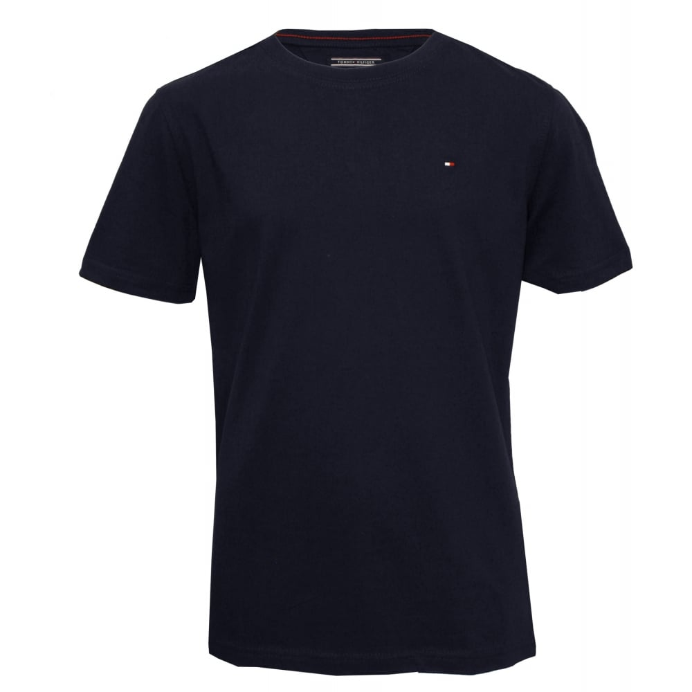 96275f37b436 Original Boys Crew-Neck T-Shirt, Navy