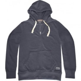 Sinne Zip-Through Tracksuit Hoodie, Marl Blue