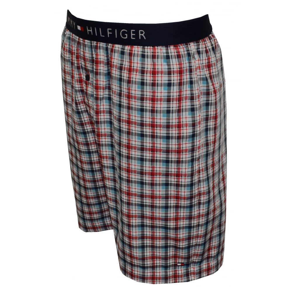 218620a7447 Tommy Hilfiger Summer Check Woven Lounge Shorts