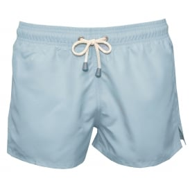 Tuckernuck Shortie Swim Shorts, Blue Glow