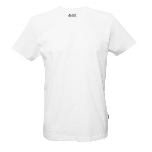 Jockey usa originals american crew neck t shirt white for Jockey t shirts sale