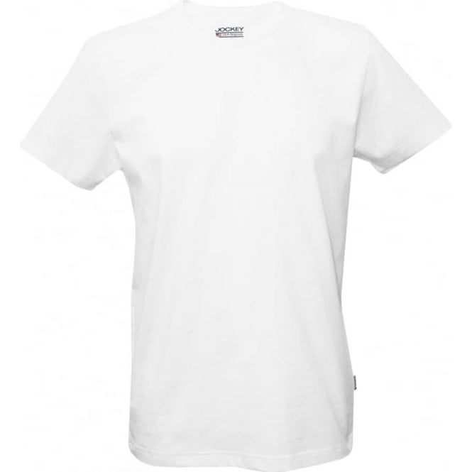 Jockey USA Originals American Crew Neck T-Shirt, White