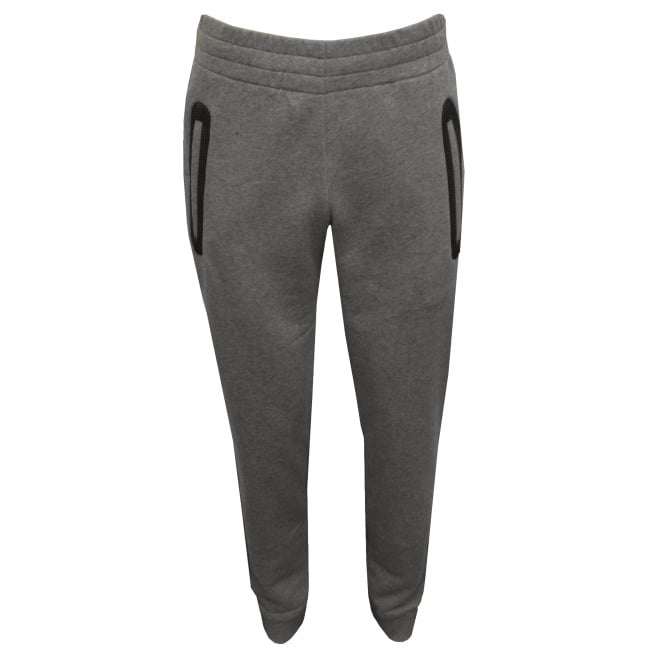 Versace Gym Luxe Jogging Bottoms, Grey Melange