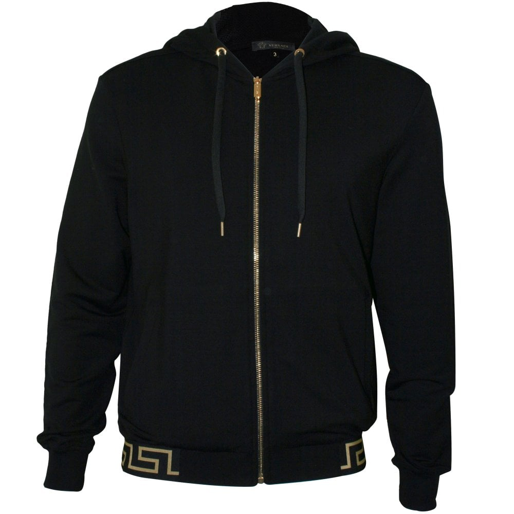 good biggest discount low price sale Iconic Luxe Tracksuit Hoodie, Black/gold