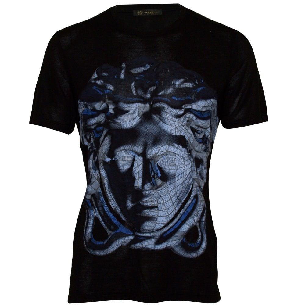 253477f4 Versace Jeans Crew Neck T Shirt Black