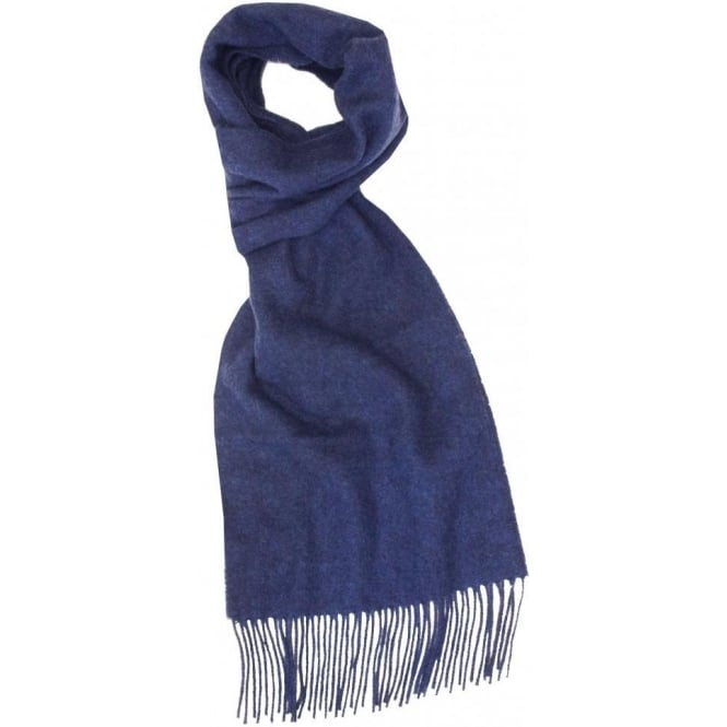 Wolsey Firsby Lambswool Scarf, Blue