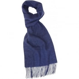 Firsby Lambswool Scarf, Blue